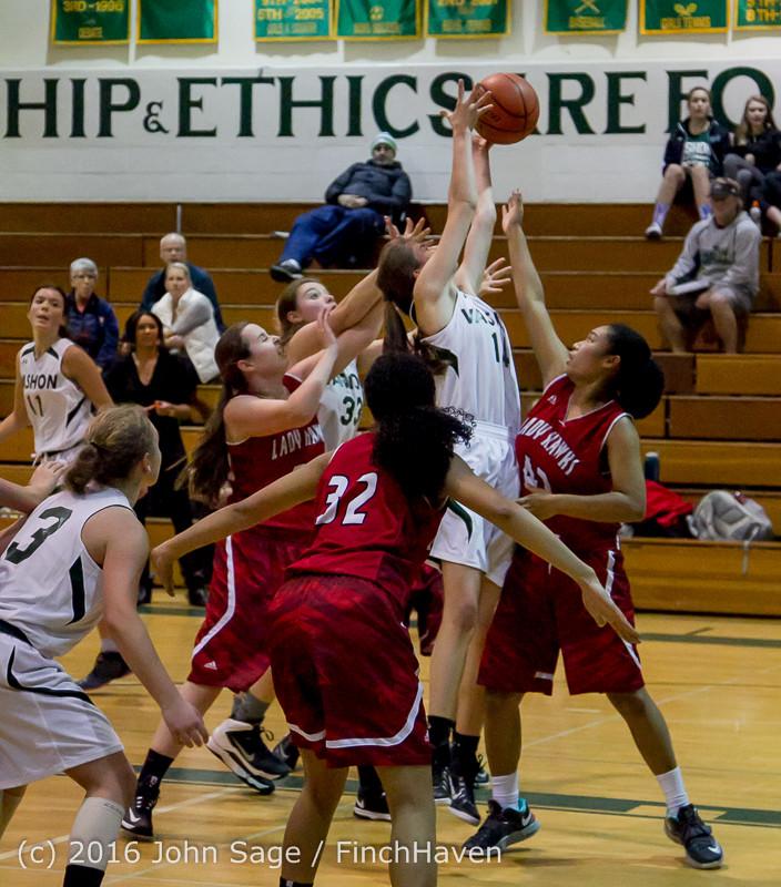2267 Girls JV Basketball v Mountlake-Terrace 120215