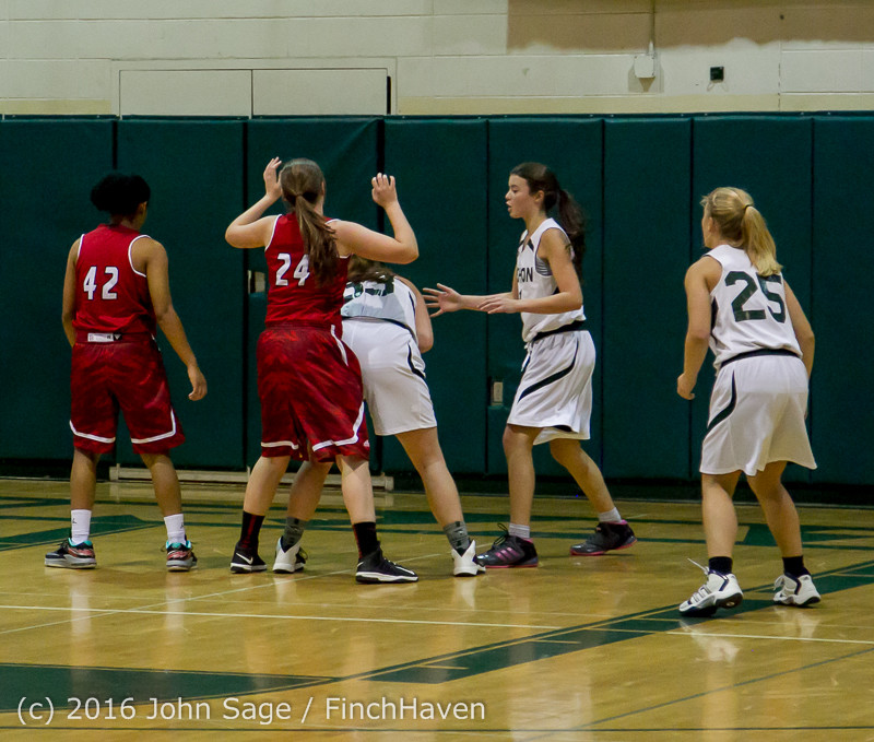 3157 Girls JV Basketball v Mountlake-Terrace 120215