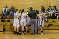 3274 Girls JV Basketball v Sea-Chr 012414
