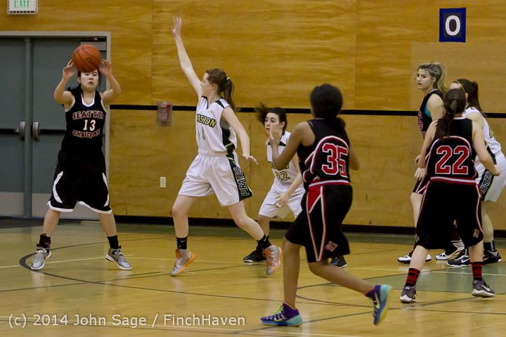 3288 Girls JV Basketball v Sea-Chr 012414
