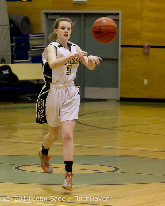 3290 Girls JV Basketball v Sea-Chr 012414