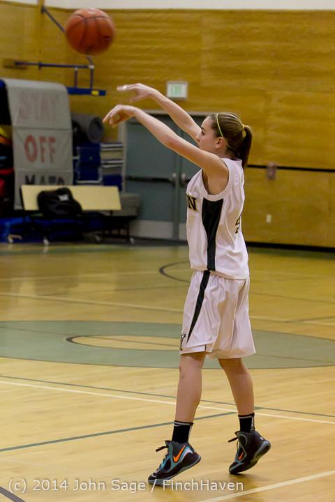 3295 Girls JV Basketball v Sea-Chr 012414