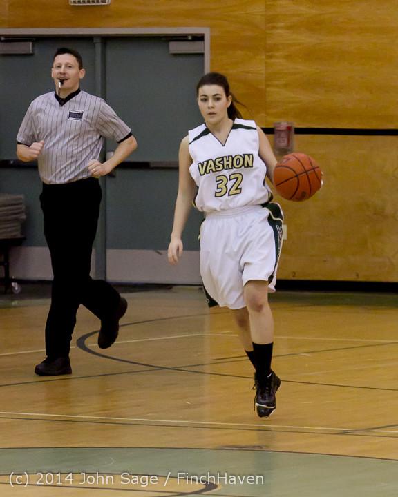 3302 Girls JV Basketball v Sea-Chr 012414