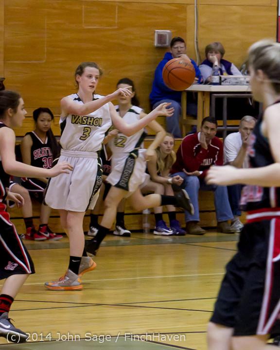 3339 Girls JV Basketball v Sea-Chr 012414