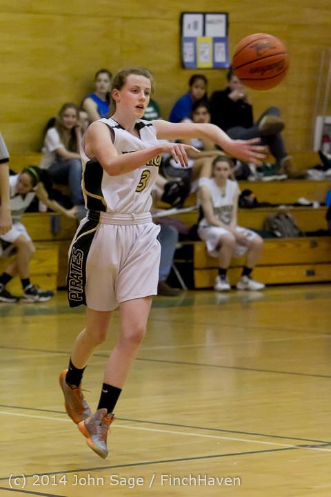 3344 Girls JV Basketball v Sea-Chr 012414