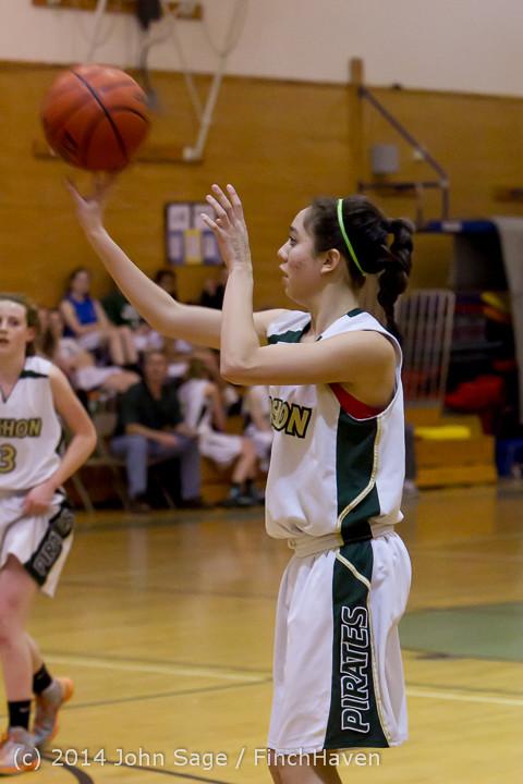 3353 Girls JV Basketball v Sea-Chr 012414