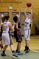 3361 Girls JV Basketball v Sea-Chr 012414