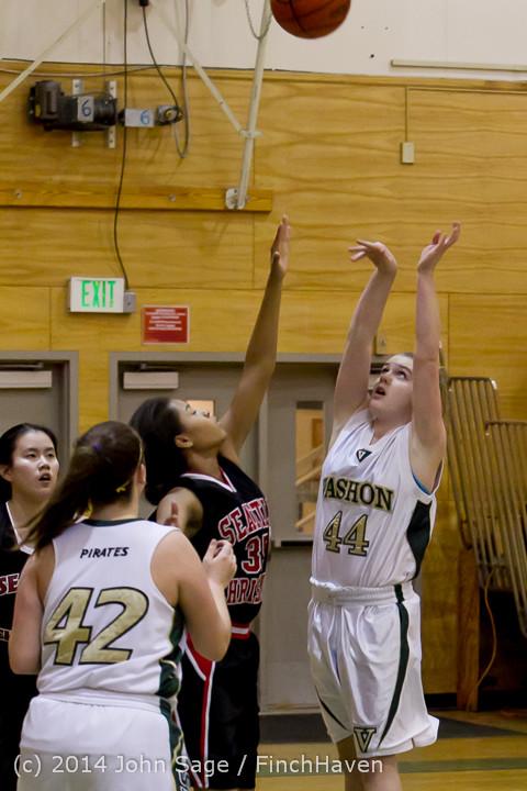 3362 Girls JV Basketball v Sea-Chr 012414