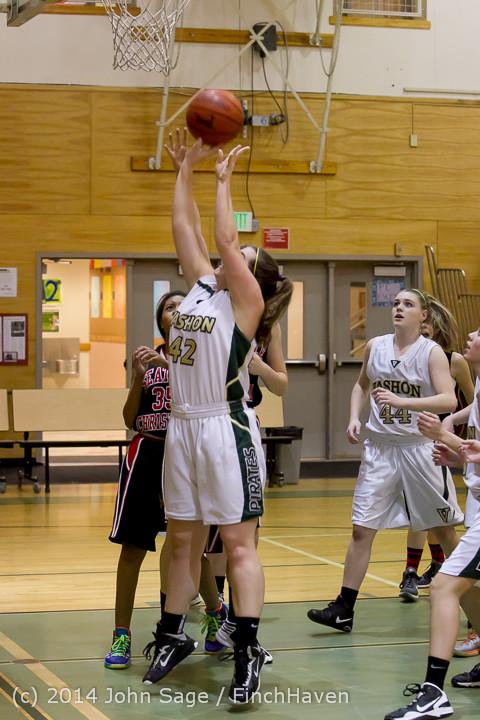 3371 Girls JV Basketball v Sea-Chr 012414