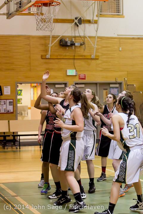 3378 Girls JV Basketball v Sea-Chr 012414