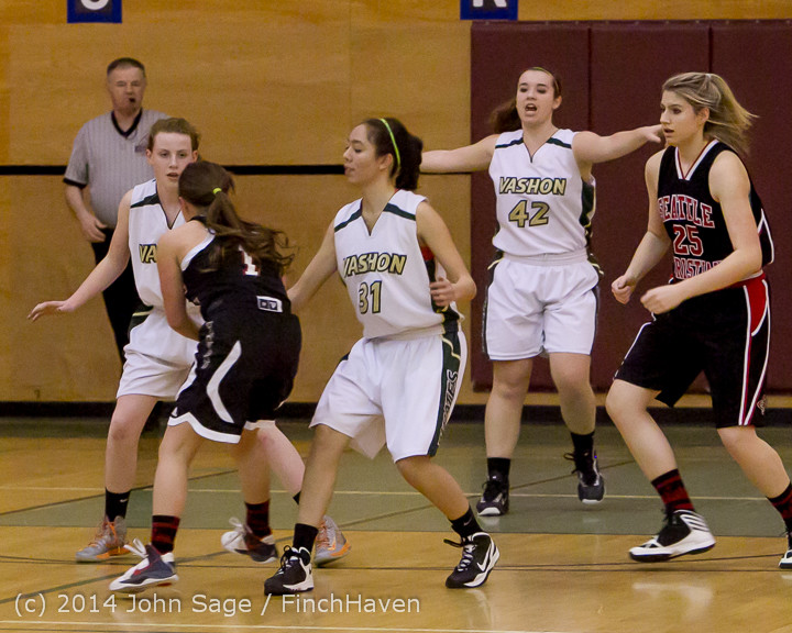 3379 Girls JV Basketball v Sea-Chr 012414