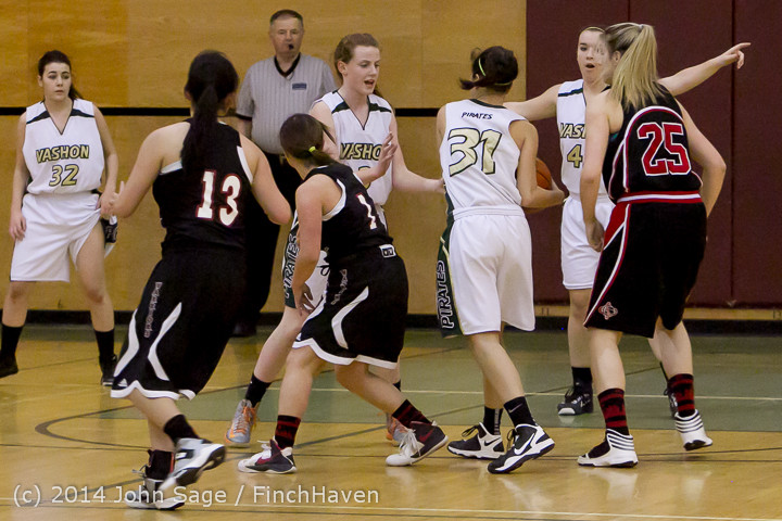 3383 Girls JV Basketball v Sea-Chr 012414