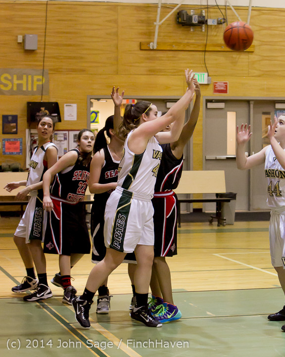 3496 Girls JV Basketball v Sea-Chr 012414