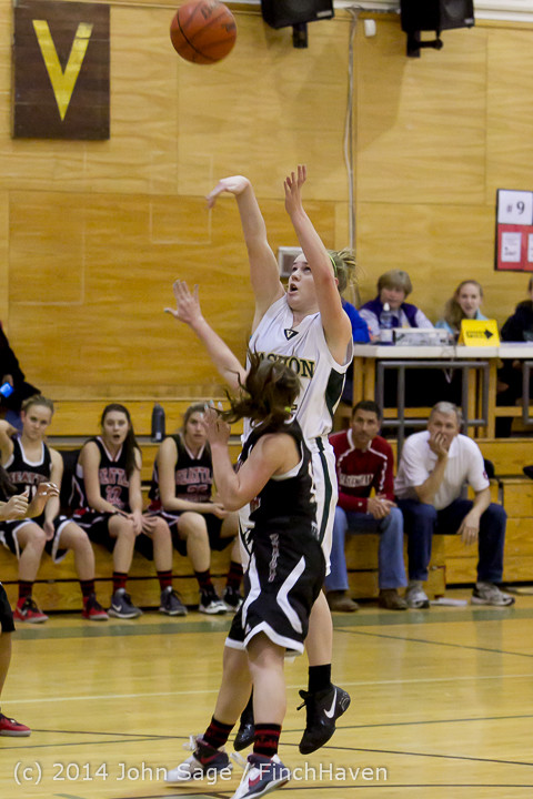 3613 Girls JV Basketball v Sea-Chr 012414