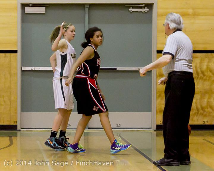 3674 Girls JV Basketball v Sea-Chr 012414