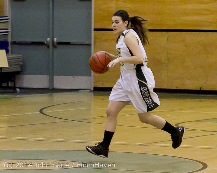 3677 Girls JV Basketball v Sea-Chr 012414