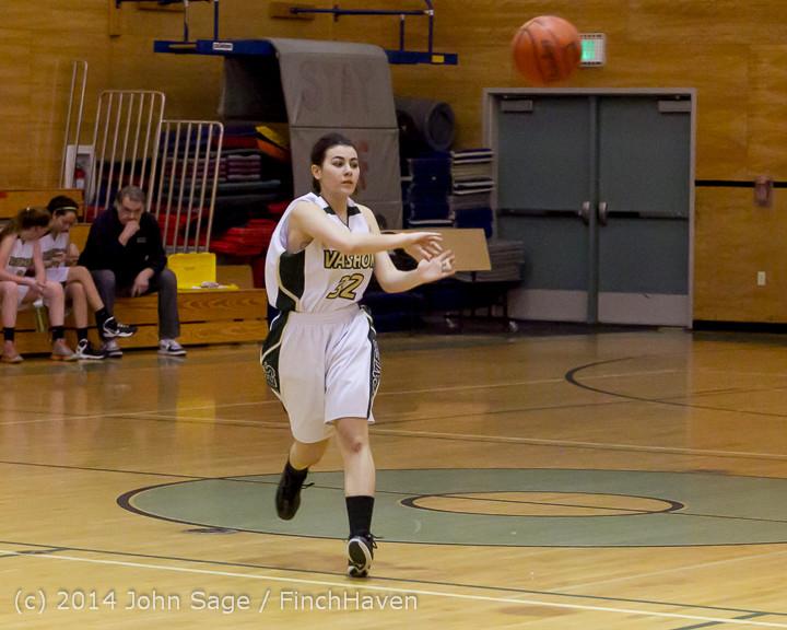 3685 Girls JV Basketball v Sea-Chr 012414
