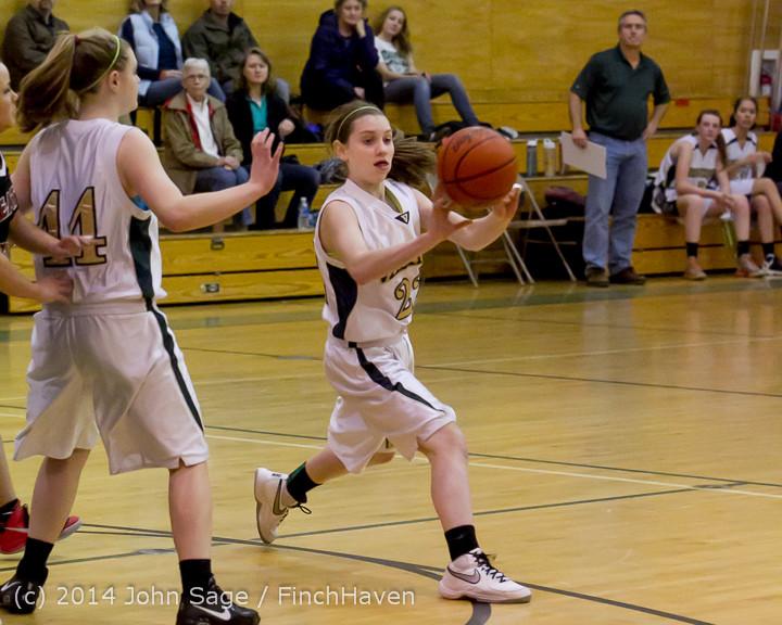 3693 Girls JV Basketball v Sea-Chr 012414