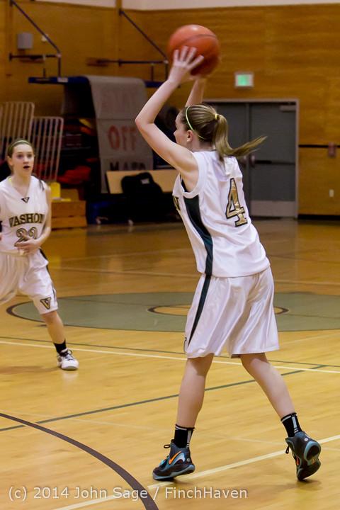 3697 Girls JV Basketball v Sea-Chr 012414