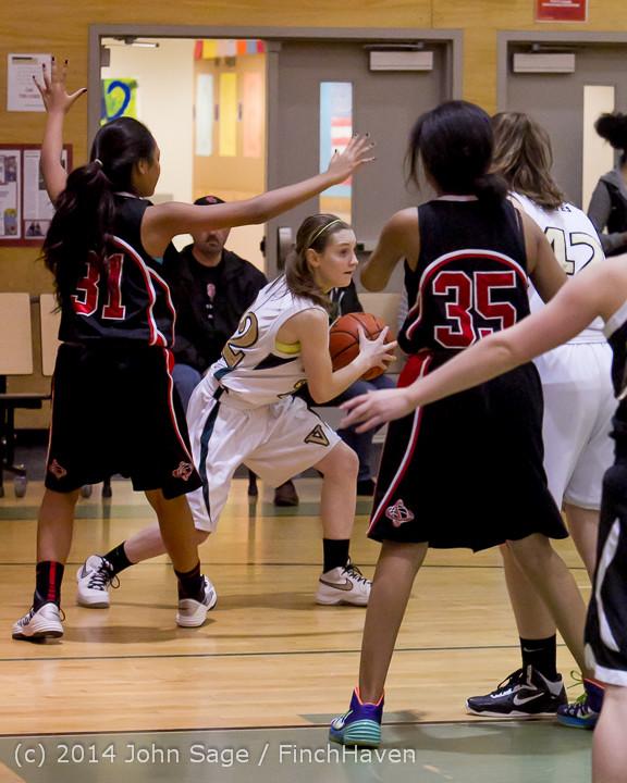 3727 Girls JV Basketball v Sea-Chr 012414