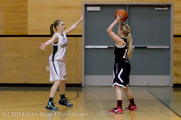 3767 Girls JV Basketball v Sea-Chr 012414