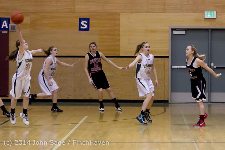 3779 Girls JV Basketball v Sea-Chr 012414