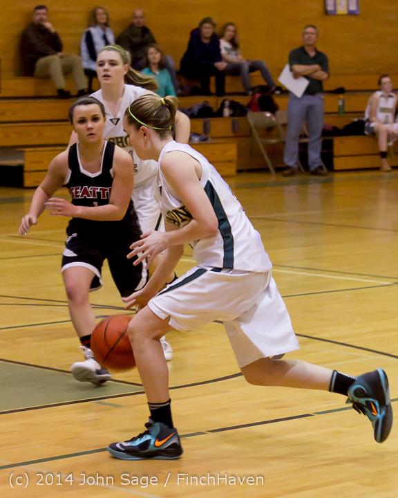 3791 Girls JV Basketball v Sea-Chr 012414