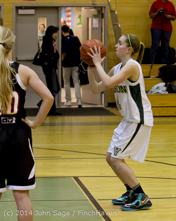 3804 Girls JV Basketball v Sea-Chr 012414