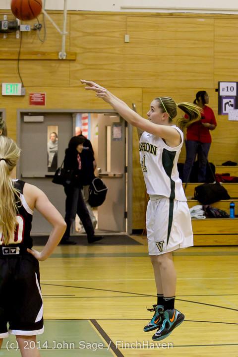 3806 Girls JV Basketball v Sea-Chr 012414