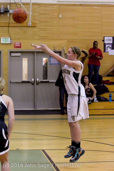 3822 Girls JV Basketball v Sea-Chr 012414