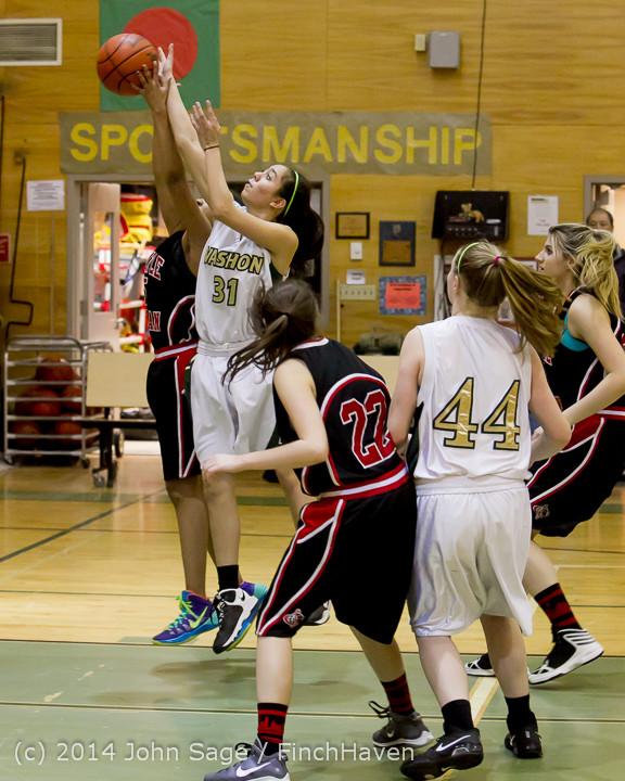 3827 Girls JV Basketball v Sea-Chr 012414