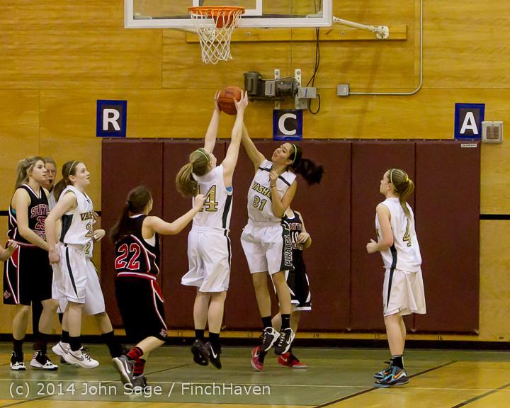 3844 Girls JV Basketball v Sea-Chr 012414