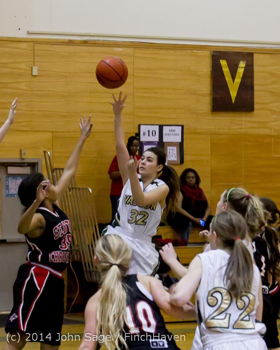 3872 Girls JV Basketball v Sea-Chr 012414