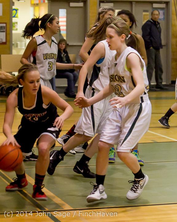 3884 Girls JV Basketball v Sea-Chr 012414