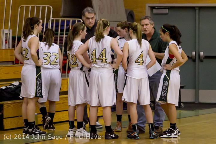 3929 Girls JV Basketball v Sea-Chr 012414
