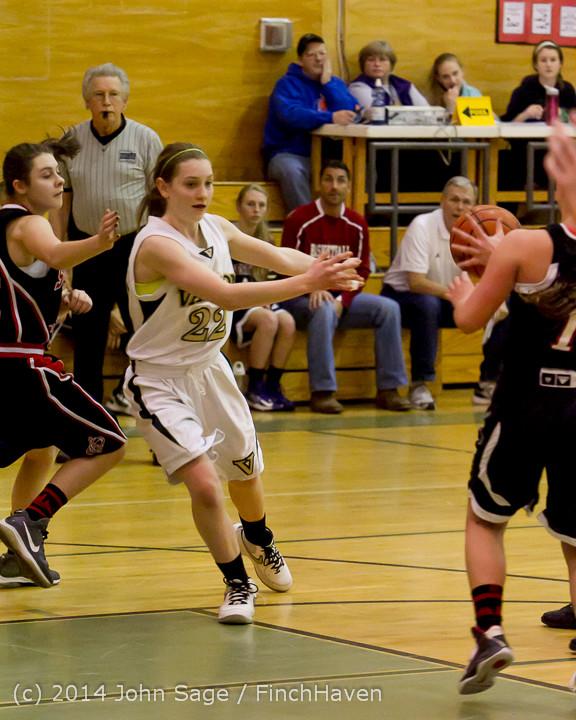 3951 Girls JV Basketball v Sea-Chr 012414