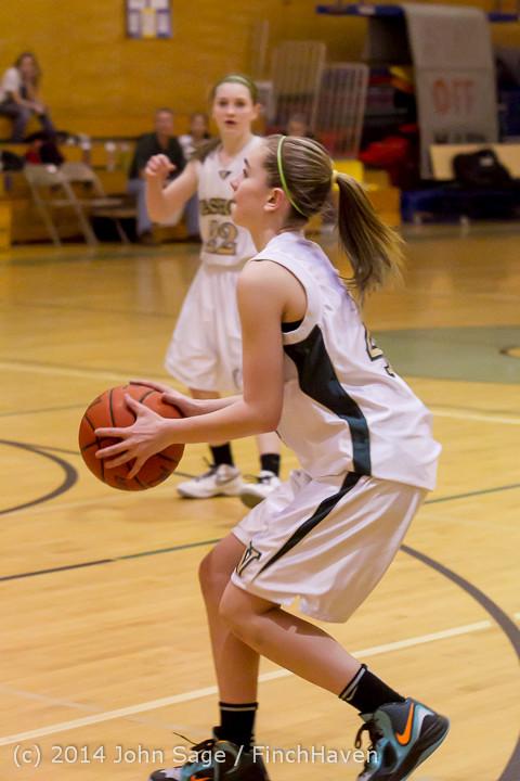 4012 Girls JV Basketball v Sea-Chr 012414