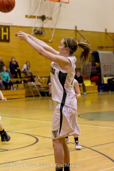 4015 Girls JV Basketball v Sea-Chr 012414