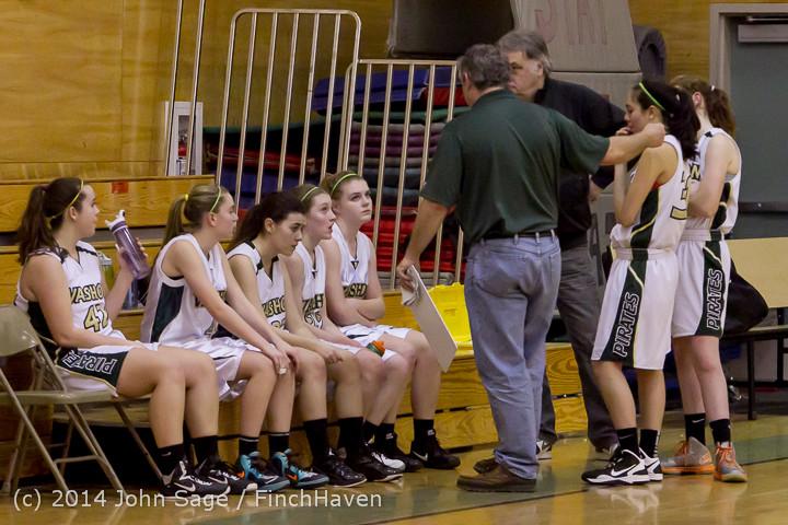 4048 Girls JV Basketball v Sea-Chr 012414