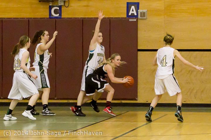 4059 Girls JV Basketball v Sea-Chr 012414