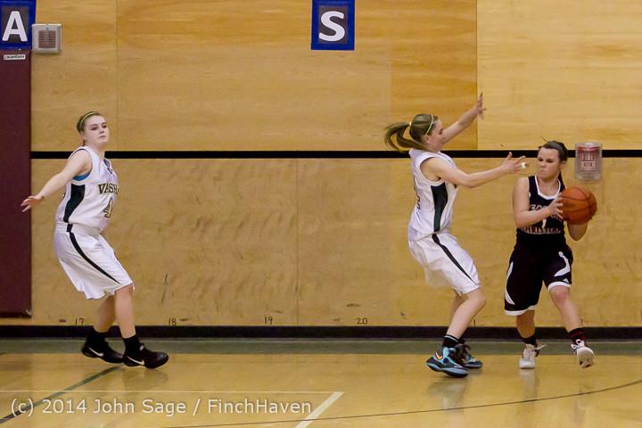 4072 Girls JV Basketball v Sea-Chr 012414