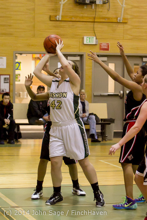 4115 Girls JV Basketball v Sea-Chr 012414