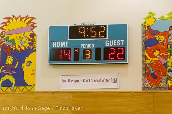 4171 Girls JV Basketball v Sea-Chr 012414