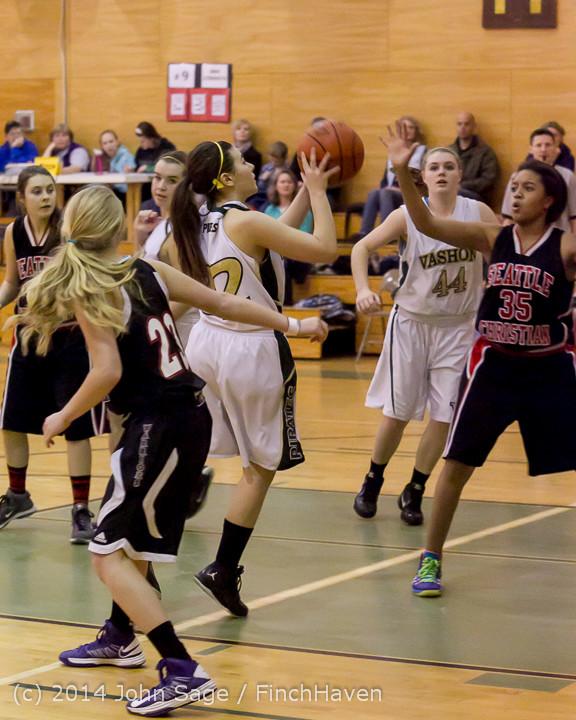4193 Girls JV Basketball v Sea-Chr 012414
