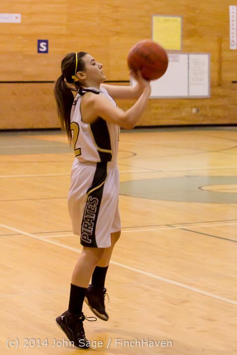 4224 Girls JV Basketball v Sea-Chr 012414