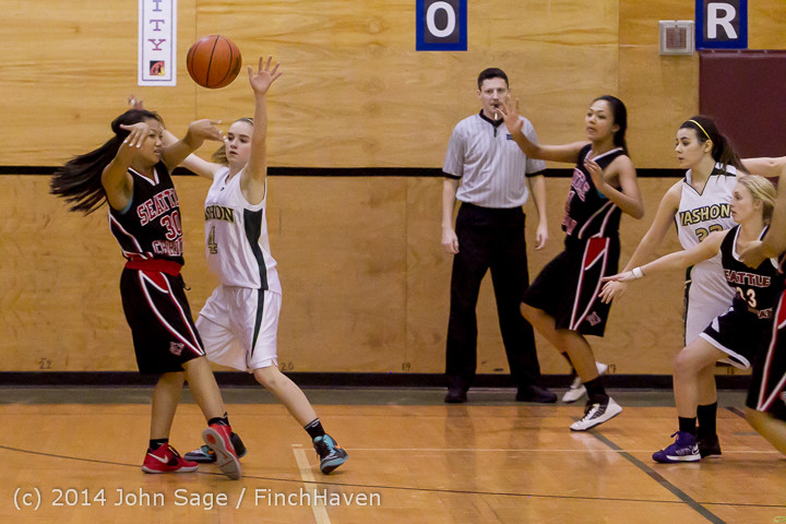 4239 Girls JV Basketball v Sea-Chr 012414