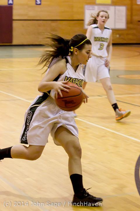 4272 Girls JV Basketball v Sea-Chr 012414