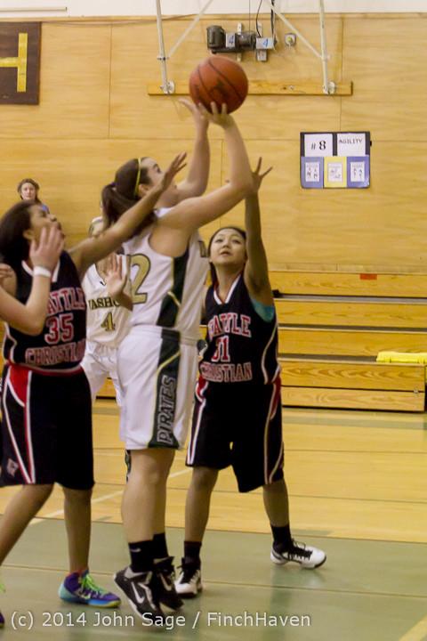 4283 Girls JV Basketball v Sea-Chr 012414
