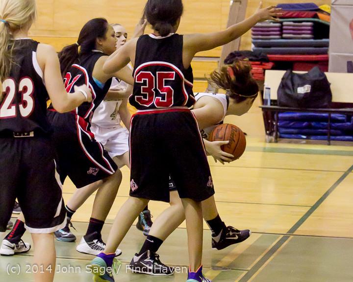 4296 Girls JV Basketball v Sea-Chr 012414