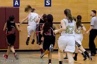 4314 Girls JV Basketball v Sea-Chr 012414